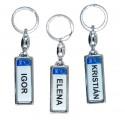 Prívesky na kľúče s menom